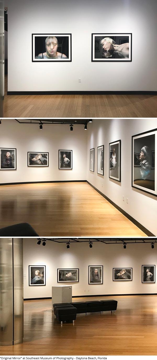 Photographer Martha Ketterer's Original Mirror exhibit at Southeast Museum of Photography
